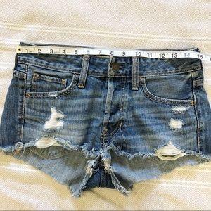 Hollister Shorts - Hollister | Distressed Shortie Shorts
